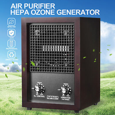 Commercial Air Purifier Original Cleaner Ionizer Ozone Generator SmokeOdor Remover
