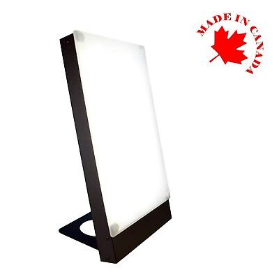 NEW TRAVelite matt black Northern Light Technologies 10,000 Lux SAD Therapy lamp for sale  Saint-Laurent