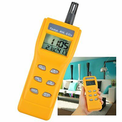 Carbon Dioxide Tester Handheld Co2 Temp Rh Humidity Meter Air Quality Diagnose