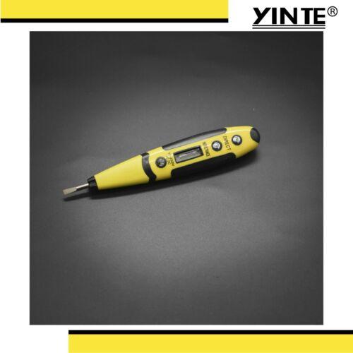 Yinte Multifunctional Induction Digital AC-DC Voltage Tester Pen