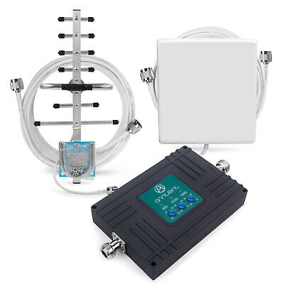CDMA GSM 3G 850/1800/2100MHz Mobile Signal Repeater LTE 4G Tri Band Booster 70dB
