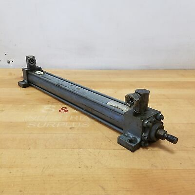 Miller Fluid Power J72b2n Hydraulic Cylinder 1-12 Bore 14 Stroke 2500 Psi