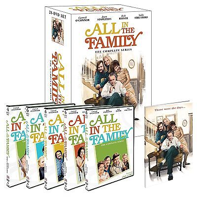 All in the Family: The Complete Series Seasons 1-9 (DVD 28-Disc Box Set) New F&S