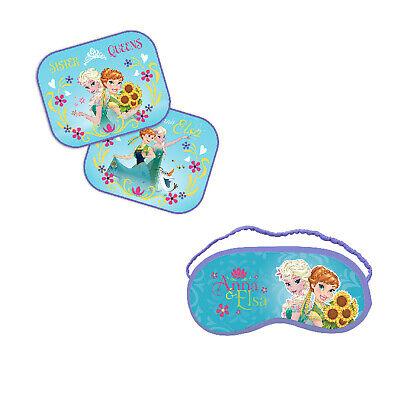 Sonnenschutz Schlafbrille Schlafmaske Disney FROZEN Autoset Kind Komfort Reise