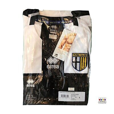 NWT Parma 2019/20 Home Soccer Jersey Small Errea Serie A image
