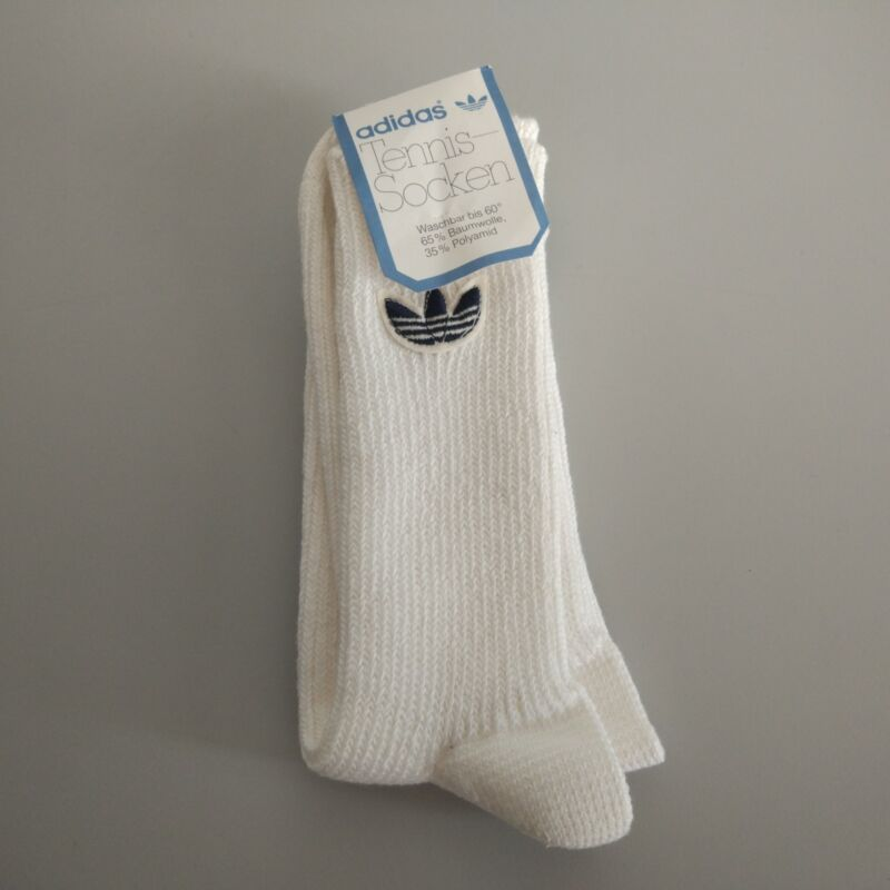 Adidas Vintage Socks New Made In Western-Germany Rare Unique Torsion ZX 8000 OG