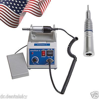 Micromotor Dental Lab Marathon Polisher Slow Straight Handpiece Fit Nsk Us Kits