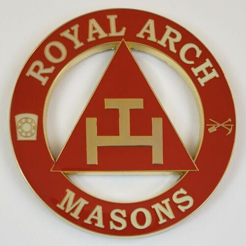 Auto Emblem Royal Arch Mason Freemason Masonic