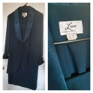 Ladies 2 piece emerald green dress and jacket formal evening work Hamilton Newcastle Area Preview