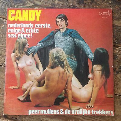 PEER MULLENS & De Vrolijke Trekkers - Candy - Cheescake Cover Nude VINYL 12