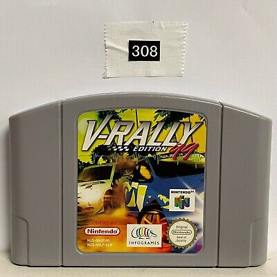 V Rally Edition 99 Nintendo 64 N64 Game Cartridge PAL oz308
