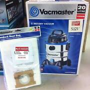 Vacmaster 20L Wet/Dry Vacuum 1250W with Standard Dust Bag 20L 5pc Cannington Canning Area Preview