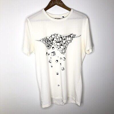Commune De Paris Graphic Tee Shirt White Medium Short Sleeve