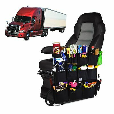 Trucker's Best Friend - Semi Truck Seat Armrest Organizer Travel Storage Bag