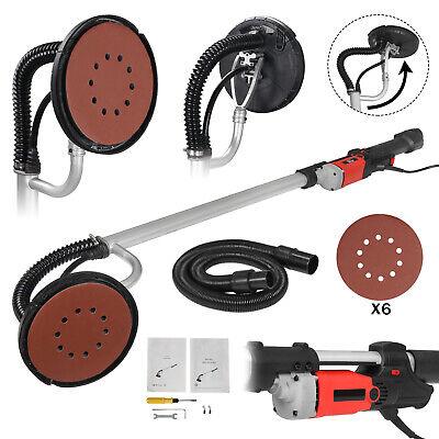 Electric 800w Variable Speed Drywall Sander W Vacuum Hose Sander Discs