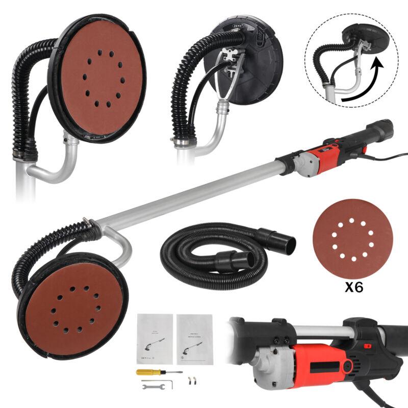 Electric 800W Variable Speed Drywall Sander w/ Vacuum Hose & Sander Discs