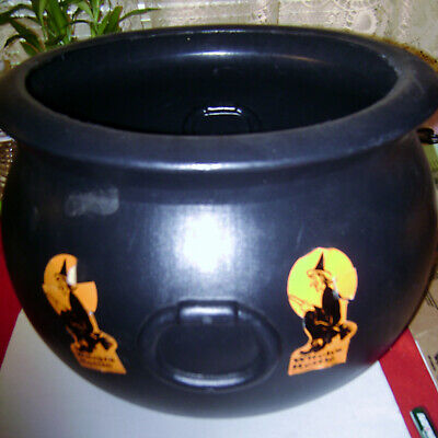 Halloween Blow Mold Cauldron Union Products 1987