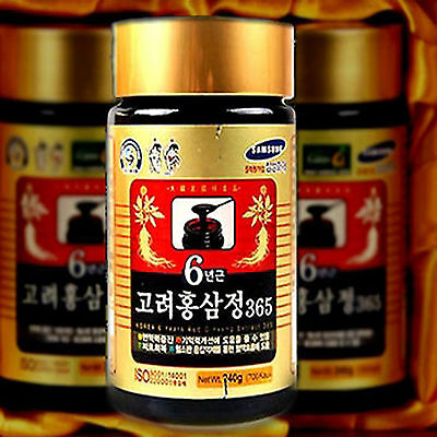 6Years Old Korean Red Ginseng Extract 240g x 1EA Korea Hongsam For Health   (6 Years Old)