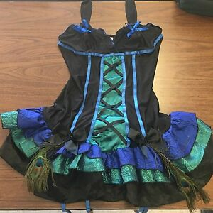 Peacock Halloween costume - Size M/L