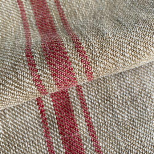 SOFT  grain sack hand woven linen hemp  textile feed bag grainsack