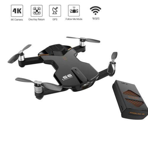 Wingsland S6 Pocket RC Quadcopter FPV Selfie Drone 4K HD Camera Outdoor Edition