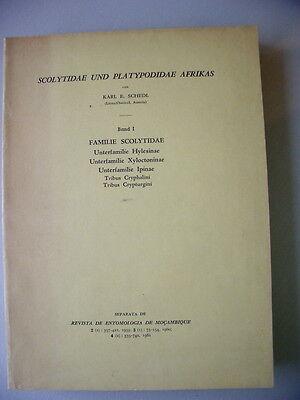 Scolytidae und Platypodiadae Afrikas Bd. I Familie Scolytidae 1963 Hylesinae ...