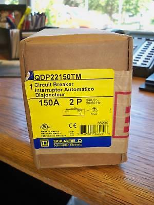 Square D Qdp22150tm 150a 2p 240v Circuit Breaker New In Box