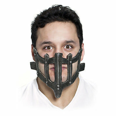 Men's Fury in the Future Mad Max Face Guard Cage Halloween Costume Face Mask - Max Halloween Costume