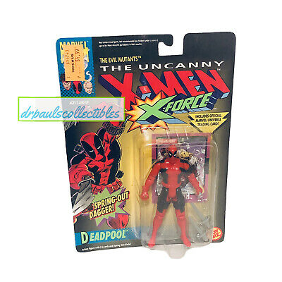 "Toy Biz Uncanny X-Men DEADPOOL 5"" Figure New Factory Sealed X-Force 1992 NM"