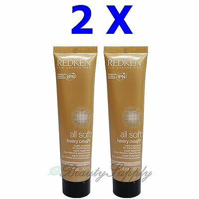 Redken All Soft Heavy Cream Treatment for Dry Hair, 1 Ounce