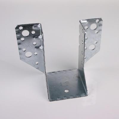 5x Balkenschuhe verzinkt 60x100 mm Balkenschuh Holzverbinder aussenliegend