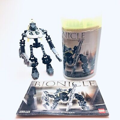 Lego Bionicle Vahki Rorzakh (8618) - 100% Complete Set with Free Shipping