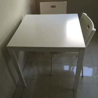 Ikea dining table with free 2 chairs