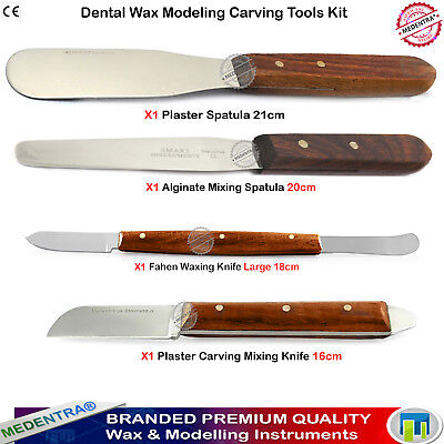 Plaster Mixing Wax knives Alginate Spatulas Waxing Laboratory Instruments New X4 for sale  Shipping to Canada