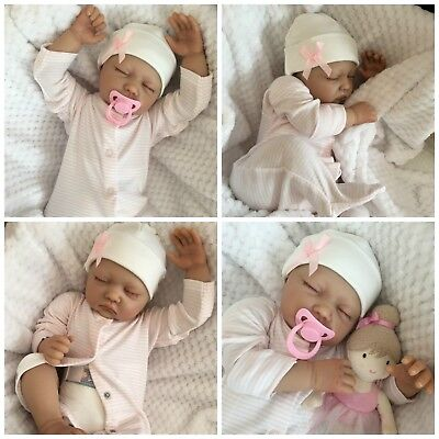 REBORN BABY GIRL DOLL SOPHIE FAKE BABIES REALISTIC HAND PAINTED 22
