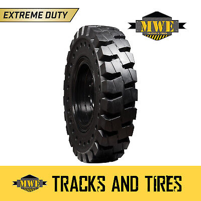 13.00-24 Extreme Duty Nd Solid Rubber Telehandler Tires - Terex Genie Gradall