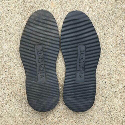 Vibram 2060 Sport Wedge Black Full Sole Size 12 Shoe Repair Replacement Cobbler