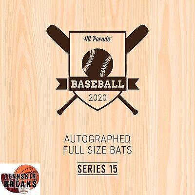 NEW YORK YANKEES 2020 Hit Parade #15 AUTOGRAPHED Baseball Bat 1BOX Break