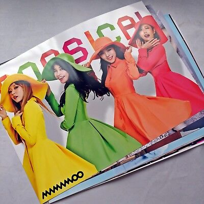 Mamamoo 12 Poster Purple Album Bromide Promo Photo Sticker Fan Meeting Concert