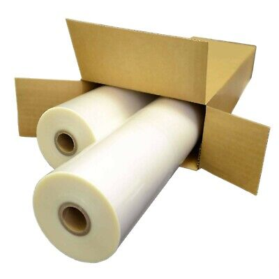2 Rolls Laminating Film 25 X 500 1. Mil 1 Adhesive In Clear
