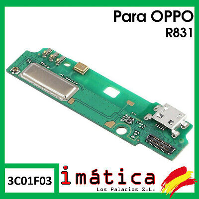 Platte Laden- Für Oppo R831 Connector USB Antenne Mikrofon Vibrator Flex