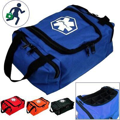 Dixie Ems First Aid Kit Medical Trauma First Responder Emergency Empty Bag EMT Ems Trauma Kits