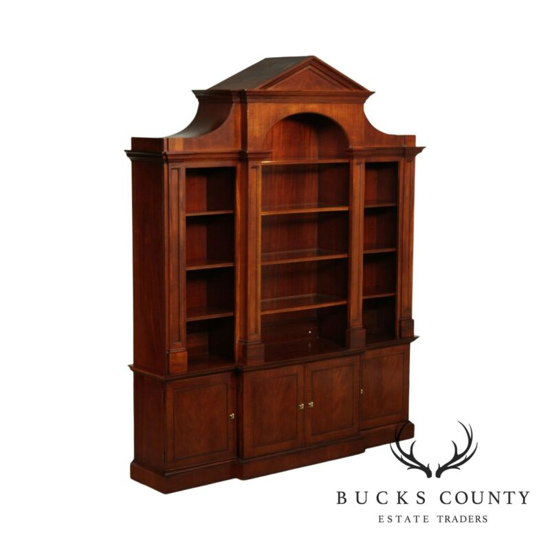 Hickory Chair Mahogany Frame Empire Style Kent Bookcase