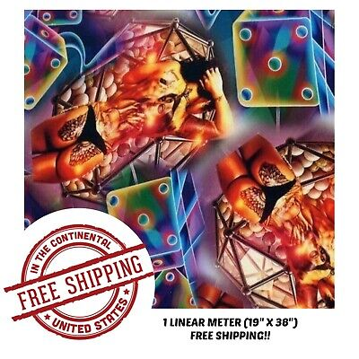 Hydrographic Film Water Transfer Hydro Dipping Dip Film 1m 19 X 38 Sin City