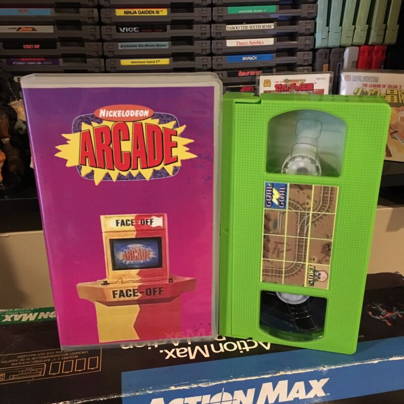 Nick Arcade VHS SOLD AS BLANK