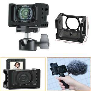 UURig Camera Cage VLOG Selfie Hand Grip & Cold Shoe for SONY RX0 II