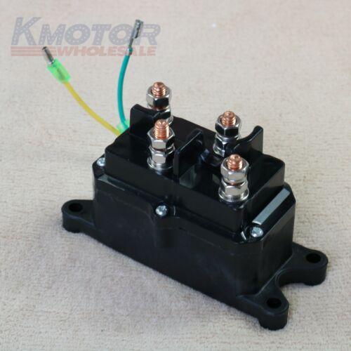 Universal Solenoid Relay Contactor Winch Solenoid Switch Thumb 12V For ATV UTV