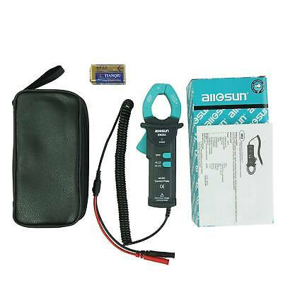 Allsun 600a Dcac Rms Current Probe Handheld Acdc Clamp Meter 50hz-60hz Cat Iii