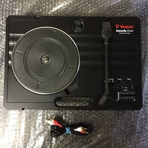 Table Tournant Portable VESTAX HANDY TRAX Portable Turntable