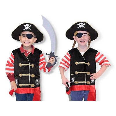 Pirate Costume Melissa And Doug (Melissa And Doug Pirate Role Play Costume Set NEW Toys)